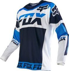 New Fox Racing 180 Mako Men's MX Motorcycle Jersey 2016 - Motorhelmets Thor Motocross, Motocross Racing, Fox Racing, Auto Racing, Moto Wear, Dirt Bike Girl, New Fox, Riding Gear, Wakeboarding