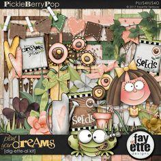 Plant Your Dreams Dig-ette-al Kit By Fayette Designs