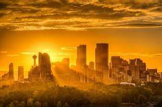 Calgary, Seattle Skyline, Canada, Australia, Celestial, Sunset, Travel, Outdoor, Outdoors