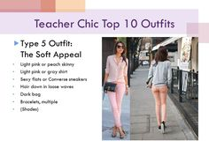 teacher chic: soft appeal skinny jeans w/ a shirt