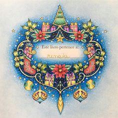 Ascoresdonatal Johannaschristmas Natal Livrodecolorir Coloringbook Coloring Coloriage Lapisdecor