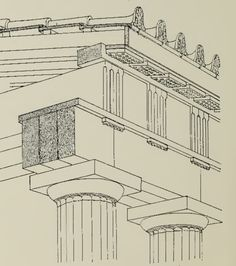 Suggested timber origin of the doric order