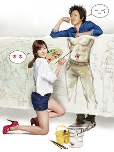 korea movie 'Petty romance' poster ver.02 2010. painter10