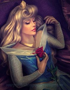 sleeping beauty by yourpsychotherapist