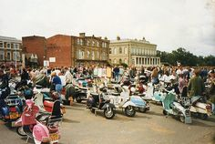Isle of Wight Scooter Rally 1996 (this might have been the later Mod Rally)