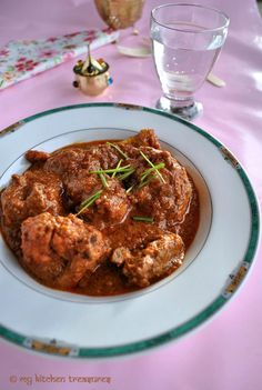 Parsee Red Chicken Curry