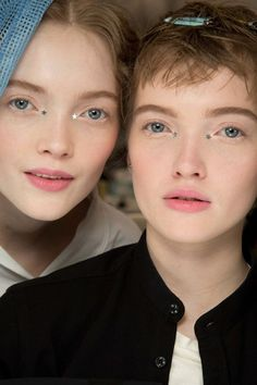 """The new supers: meet the models of the moment that aren't Kendall or Gigi: Name: Ruth andMay Bell Nationality: British Resumé:Ruth and May Bell are a rare breed and highly coveted breed in fashion: identical twin sisters. While Ruth is easily distinguishable by way of her pixie cut May has scored the nickname """"Baby Kate Moss"""". Both have stared in numerous campaigns together, including Dior and Burberry. But it was Ruth's head shaving for an Alexander McQueen campaign that sealed the d..."""