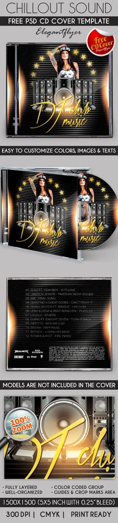 DJ Sound – Free CD Cover PSD Template https://www.elegantflyer.com/free-cd-dvd-templates/dj-sound-free-cd-cover-psd-template/