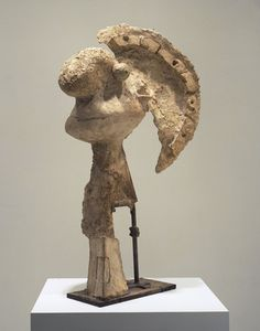 Pablo Picasso. Head of a Warrior. Boisgeloup, 1933