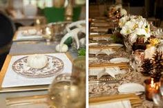 thanksgiving tablescapes - Google Search