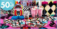 Sock Hop 50s Party Supplies- Party City