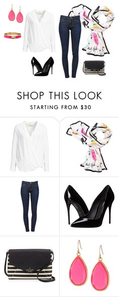 """Untitled #227"" by tracie-renae on Polyvore featuring By Malene Birger, Kate Spade, Frame Denim and Dolce&Gabbana"