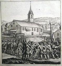 1774 Neujahrsblatt SINS Muri rare pamphlet with Etching by J.B. Bullinger