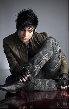 Adam Lambert. If he wasn't gay if would be all over that fine piece of man!