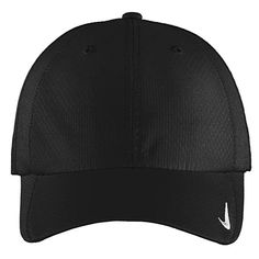 NIKE Authentic Sphere Quick Dry Low Profile Swoosh Embroidered Adjustable  Cap - Black 15719ae9252e