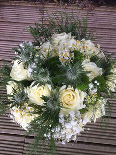 Steph's Flower Barn in Norwich offers bespoke designs. Bridesmaid Bouquet, Bridesmaids, Bespoke Design, Bouquets, Barn, Table Decorations, Flowers, Wedding, Home Decor