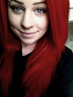 Red hair<3 Inique is all i have to say,, never following a trend and copying a trend and trying to copy people; doing my OWN THANG!!!;)