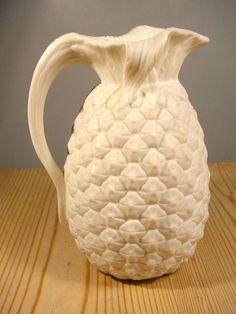 Minton Parian Pineapple Jug 1860