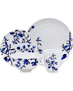 Oneida 16-Piece Dinnerware Set in Tranquility Blue