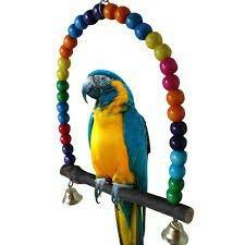 Toy idea #parrotcageideas