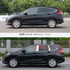 For Honda CRV//CR-V 2012-2016 Car Stainless Steel Window Pillar Post Trim