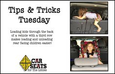 A nifty trick we wanted to share on #TipTuesday!  #car #cars #kids #driving #tips