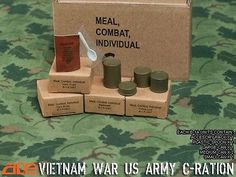"ACE Toys 1/6 Scale Vietnam US Army C-Rations Set for 12"" Action Figures 13021"