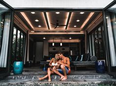 Home is where the heart is Such a good time in our new temporary home @bababeachclub Thanks to @theasia.collective for showing us this amazing villa. #love