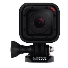 Half the size of other GoPro HERO4 video cameras, the tough, waterproof HERO4 Session camera fits almost anywhere and records up to 2 hours on a full charge.