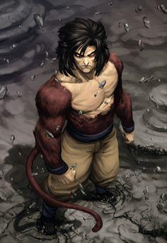 Super Saiyan 4 Goku/Kakarot (SSJ4).
