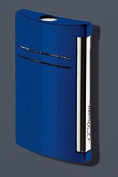 S.T. Dupont Maxijet Lighter Lighter - Midnight Blue