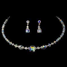 * Necklace Earring Set NE 232 AB