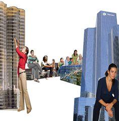 Random work from Iris Bijvelds Architecture Collage, Collages, Iris, Times Square, Random, Travel, Furniture, Montages, Voyage