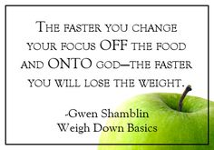 Weigh Down Basics, The answer for permanent weight loss