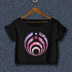 5b98654c974 Bassnectar crop top shirt Bassnectar t shirt BNT-01-B