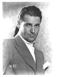 Charles Farrell - handsome actor from the 20's
