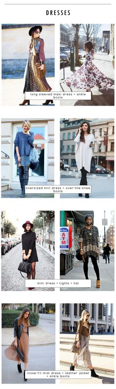 18 outfit recipes for fall - dresses | kinks are the new pink