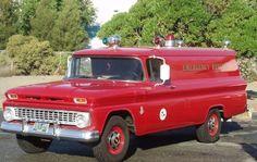 1963 Chevrolet Rescue truck....