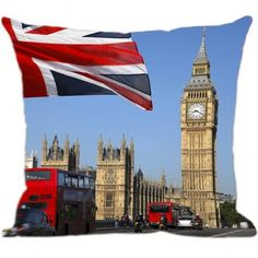 O Relógio mais famoso do mundo na sua casa estampado na Almofada Digital da Luisa Decor! Inspirado nos monumentos de Londres, a Luisa Decor desenvolveu uma série de Almofadas personalizadas. Visite www.luisadecor.com.br