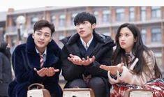 Tan lindos los tres Kim Min Jae Woo Do Hwan Moon Ga Young en drama Tempted MBC 2018