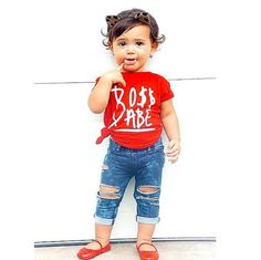 Boss Babe TShirt - Baby Tee Shirt - Baby T Shirt - Boys Clothing For Baby and Toddler and Youth - Kids Clothes - Bossy Baby Shirt