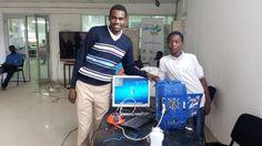 Atelier Jerry lors de la semaine du numérique 2éme edition à N'Djamena (Tchad)