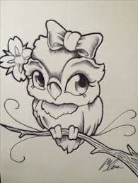 Image result for cute owl drawing pinterest
