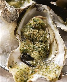 Herbed Roasted Oysters | The Artful Gourmet