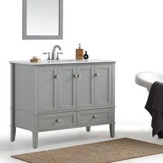 "Burholme 43"" Single Bathroom Vanity Set"