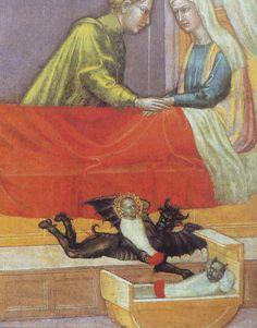 Martino di Bartolomeo, the legend of St. Stephen, early 15th century   (detail)