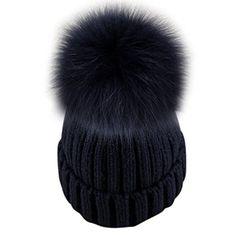 Dikoaina Womens Girls Knitted Fur Hat Real Large Silver F... https://www.amazon.com/dp/B01MQFKXQ9/ref=cm_sw_r_pi_dp_x_iWzsybQ5HHKDR