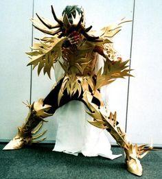 Spiky Deathmask cosplay