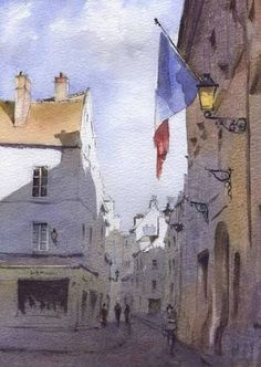Image result for watercolours Brittany France