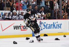 James Neal after his second career hat trick -- that's my boy, neal!